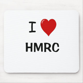I Love HMRC - I Heart HMRC - For UK Tax Lovers! Mouse Pad
