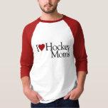 I Love Hockey Moms (Sarah Palin) Tee Shirts