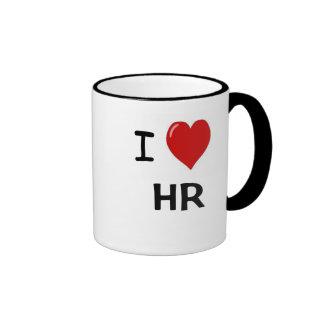 I Love HR  - I Heart HR Humor Mug