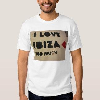 i love ibiza we love ibiza everyone loves ibiza t shirt