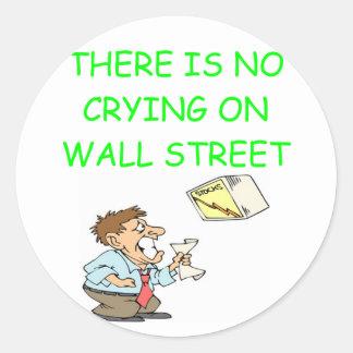 i love investing round sticker