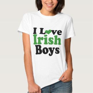 I love Irish Boys Shirts