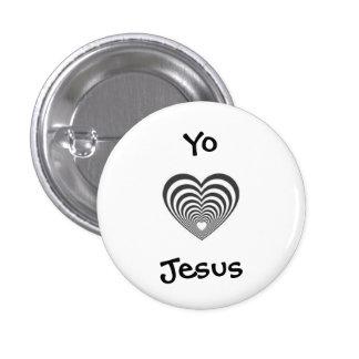I love Jesus in spanish 3 Cm Round Badge