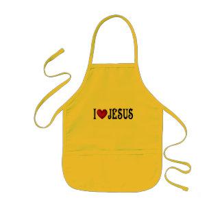I Love Jesus Kids Apron