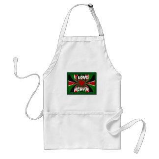 I Love Kenya Hakuna Matata Gifts Standard Apron