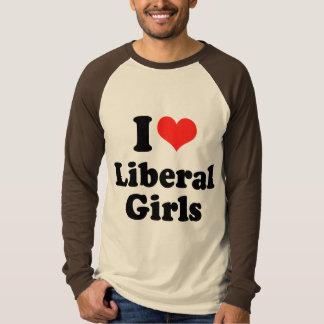 I LOVE LIBERAL GIRLS T-SHIRT