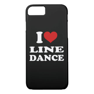 I Love Line Dance iPhone 7 Case
