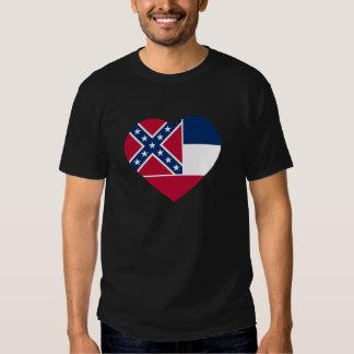 I Love Mississippi T Shirts