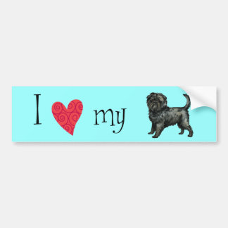 I Love my Affenpinscher Bumper Sticker