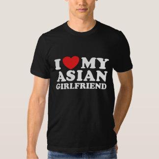 I Love My Asian Girlfriend Shirt