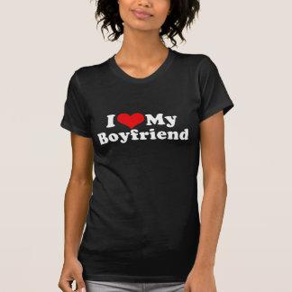I Love My Boyfriend Valentine's Day T-shirts