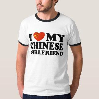 I Love My Chinese Girlfriend Shirts