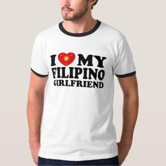 I Love My Filipino Girlfriend Tshirts