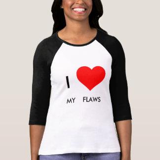 I Love My Flaws Long Sleeve Shirt