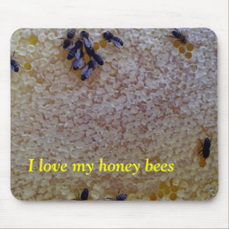 I love my honey bees mouse pad