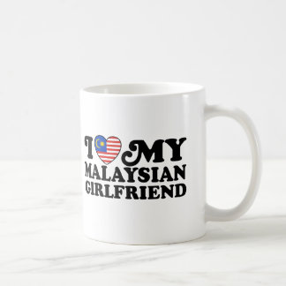 I love My Malaysian Girlfriend Basic White Mug