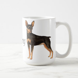 I Love my Miniature Pinscher Basic White Mug