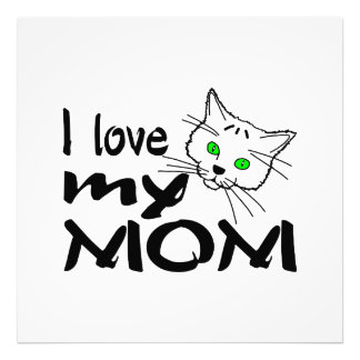 I Love My Mom Photograph