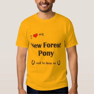 I Love My New Forest Pony (Male Pony) Shirt