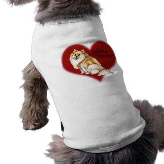 """I Love My Pomeranian"" Pet Shirt"