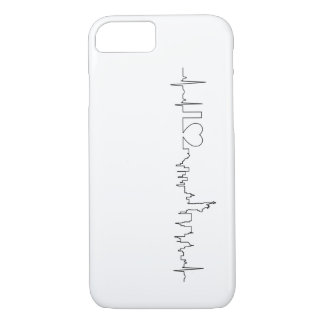 I love New York in a extraordinary style iPhone 7 Case