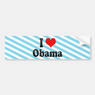 I Love Obama, Japan Bumper Sticker