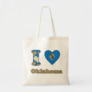I love Oklahoma Budget Tote Bag
