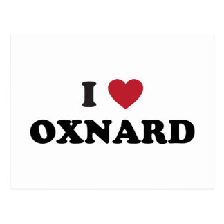 I Love Oxnard California Postcard