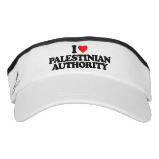 I LOVE PALESTINIAN AUTHORITY VISOR