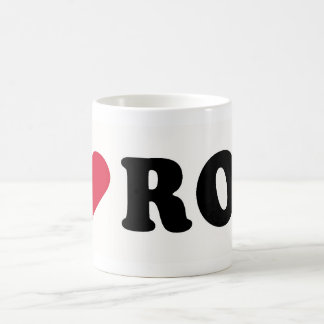 I LOVE ROD BASIC WHITE MUG