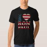 I Love Ron Paul Flag T Shirt