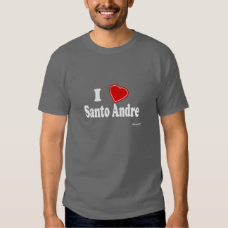 I Love Santo Andre T Shirt