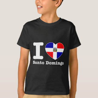 I love Santo Domingo T Shirts