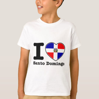 I love Santo Domingo T-shirts
