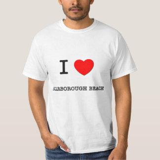 I Love Scarborough Beach Maine Tee Shirt
