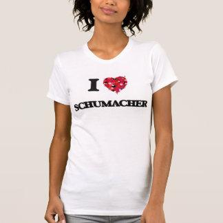 I Love Schumacher T-shirts