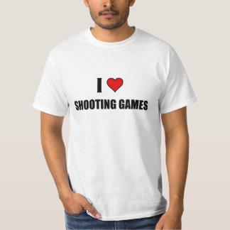 I love shooting Games T Shirt