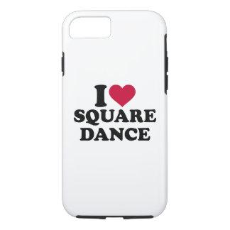 I love square dance iPhone 7 case