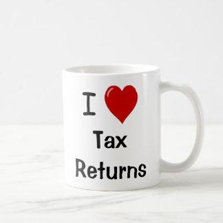 I Love Tax Returns - Tax Preparer Mug