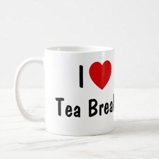 I Love Tea Breaks Basic White Mug