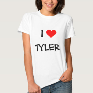 """""""I LOVE _____"""" TEMPLATE--ADD YOUR OWN NAME T SHIRTS"""