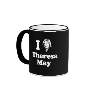 I Love Theresa - Bust - -  Ringer Mug