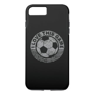 I love this game - soccer / football grunge iPhone 7 plus case