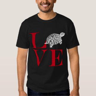 I Love Turtles - Dark Colored Tee