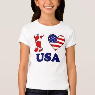 I love USAS Tshirt