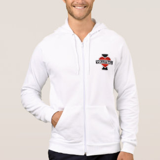 I Love Volleyball Hooded Sweatshirts