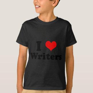 I Love Writers Shirt