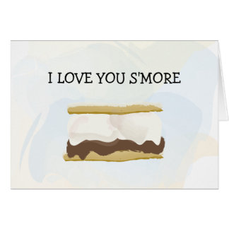 I Love You S'more Note Card