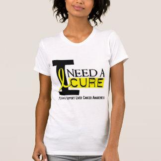 I NEED A CURE 1 LIVER CANCER T-Shirts