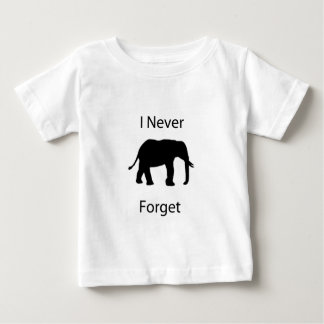I never forget t-shirt
